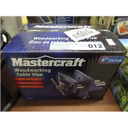 "New Mastercraft 6"" Table Vise"