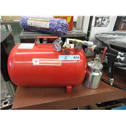 Motomaster Portable Air Tank & ROK Paint Sprayer