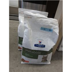 2 x 8.5 LB Bags of Hills Cat Food