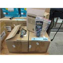 3 Boxes of Impact Sockets