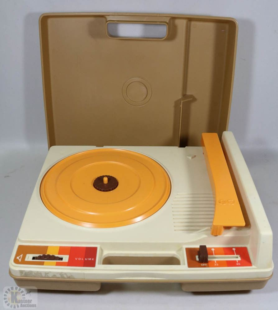 sale vintage fisher price record player