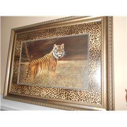 Tiger - Large Framed Print, Signed