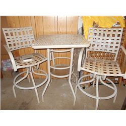3 PC Patio Furniture Set
