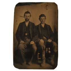 Photograph Attributed to Jesse James & Bob Ford
