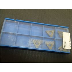 New Valenite STBC-16-3 Carbide Inserts, 5 Total
