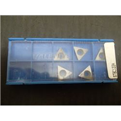 New Valenite STBC122A Carbide Inserts, 5 Total