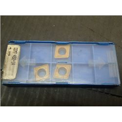 New Valenite CCMT 432-1A Carbide Inserts, 3 Total