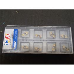 New Iscar AOMT 060204-45DT Carbide Inserts, 8 Total