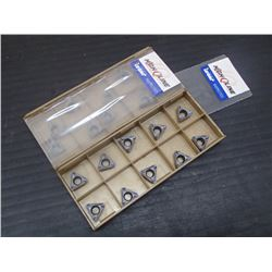New Iscar HM390 TPKT 1003PDR Carbide Inserts, IC830 Grade