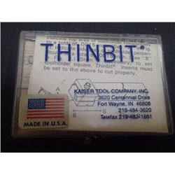 THINBIT DM-2 LH Shoulder Inserts w/ Full Radius