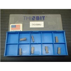 New ThinBit DGI30BU Carbide Inserts