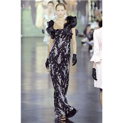 Ralph Lauren Silk Runway Casey Gown Spring 2008 40th An