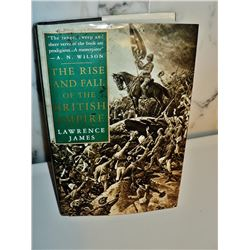 The rise and fall of the British Empire first US edition 1996 Hardcover Book Lawrence James