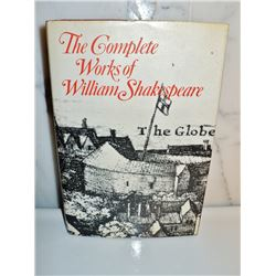 The complete works of William Shakespeare printed in Great Britain 1972 Hardcover Book
