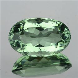 Natural Light Green Tea Color Amethyst 12.00 Cts - VVS