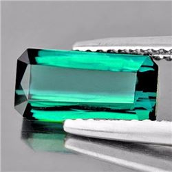 Natural Teal Green Tourmaline 4.37 Cts