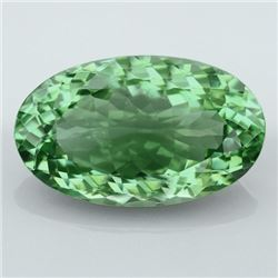 Natural Healing Green Color Amethyst 33.85 Cts - VVS