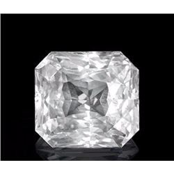 Natural White Sapphire 1.58 Carats - no Treatment