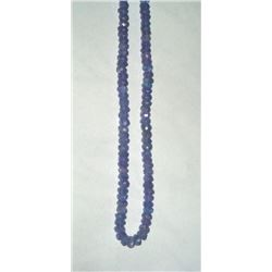 Genuine Tanzanite Necklace - 50 cts