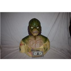 CREATURE FROM THE BLACK LAGOON LIKE THE QUEST RANA SCREEN USED SILICONE MASK 01