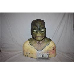 CREATURE FROM THE BLACK LAGOON LIKE THE QUEST RANA SCREEN USED SILICONE MASK 04