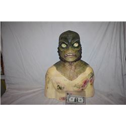 CREATURE FROM THE BLACK LAGOON LIKE THE QUEST RANA SCREEN USED SILICONE MASK 08