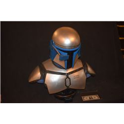 Z-CLEARANCE STAR WARS JANGO FETT LIFE SIZE BUST ARTIST'S PROOF SIDESHOW REPAIRED