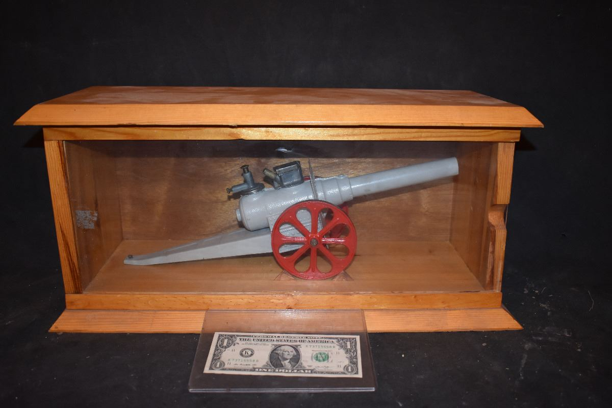how to make a display cannon