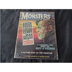 Z-CLEARANCE FAMOUS MONSTERS OF FILMLAND #24