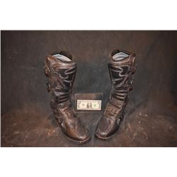 TEKKAN WARRIOR SCREEN USED BOOTS