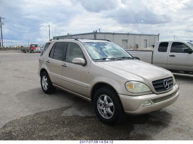 2002 mercedes benz ml500 rod robertson enterprises inc for 2017 mercedes benz ml500 price
