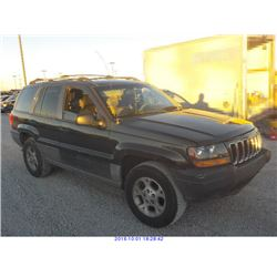 1999 - JEEP GRAND CHEROKEE LAREDO// REBUILT SALVAGE