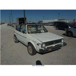 1981 - VOLKSWAGEN RABBIT