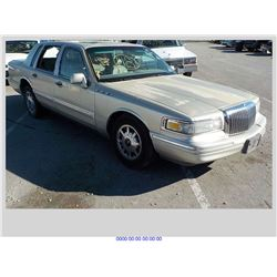 1997 - LINCOLN TOWN CAR // BONDED TITLE