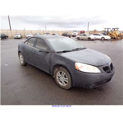 2006 - PONTIAC G6 // RESTORED SALVAGE