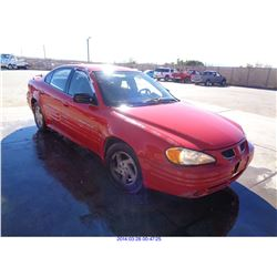 2000 - PONTIAC GRAND AM