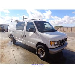 1998 - FORD ECONOLINE // RESTORED SALVAGE