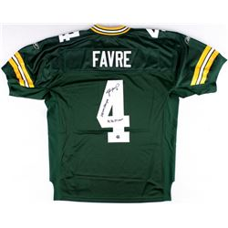 "Brett Favre Signed Packers Jersey Inscribed ""'95, '96, '97 MVP""  ""SBXXXI Champs"" (Favre COA)"