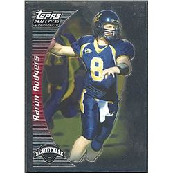 Aaron Rodgers 2005 Topps Draft Picks and Prospects #152 RC