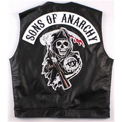 """""""Sons of Anarchy"""" Vest with Reaper Patch (Size XXL)"""