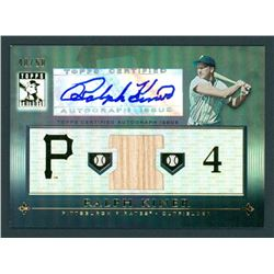 Ralph Kiner 2010 Topps Tribute Autograph Relics Black #RK #40/50