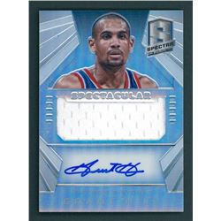 Grant Hill 2014-15 Panini Spectra Spectacular Swatches Signatures #SSGH3 #02/35