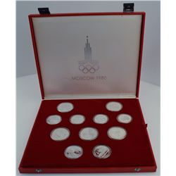 Silver Moscow 1980 Olympic Set