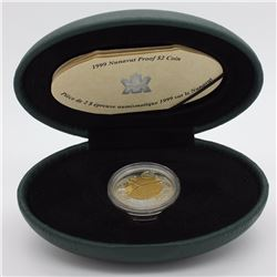 RCM 2$ - Proof Silver Coin - 1999