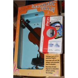Brand new electronic violin fishing game kastner auctions for Electronic fishing game