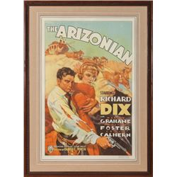 """The Arizonian"" Original Lithograph Movie Poster"