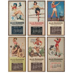 Ollie Hammond Pin-Up Girl Calendars