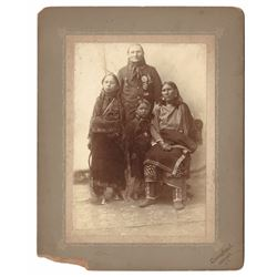 Overstreet Original Photograph of Kiowa Family
