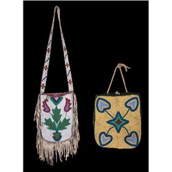 Two Beaded Bags