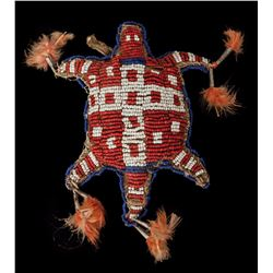 Sioux Beaded Turtle Fetish